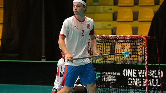 Kapitán národního týmu juniorů  Filip Forman.