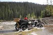 Ford model T na cestě kolem světa.