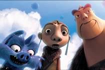 OPRAVDOVÍ RYTÍŘI. Hector (vlevo), Gwizdo (uprostřed) a Lian-Chu se vydávají na konec světa, aby bojovali s mocným drakem.