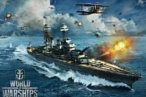 Počítačová hra World of Warships.