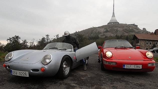 Sraz majitelů vozů Porsche ve Vratislavicích nad Nisou