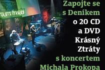 Soutěž o CD a DVD Michala Prokopa