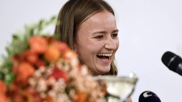 Barbora Krejčíková po návratu z Roland Garros.