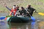 Vodáci odemykají řeku Lužnici