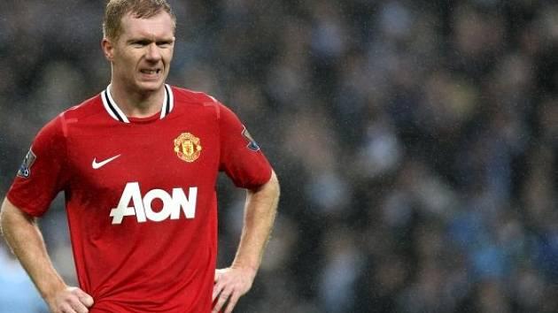 Paul Scholes, legenda Manchesteru United.