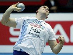 Ladislav Prášil na halovém mistrovství Evropy.