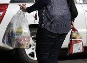 Plastové tašky, ilustrační foto.