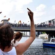 Berlíňané protestovali proti demonstraci AfD