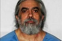 Richard Allen Davis. Muž, který unesl a zabil Polly Klaasovou. Nyní čeká na vykonání trestu smrti. Snímek z vězení.