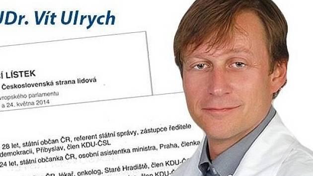 Úmysl, nebo lenost? Vít Ulrych nabádal v kampani voliče, aby nezapomněli otočit hlasovací lístek na zadní stranu a zakroužkovali  jeho kandidátní číslo 24. Kvůli šlendriánskému sčítání volebními komisemi mu to ale nebylo nic platné.