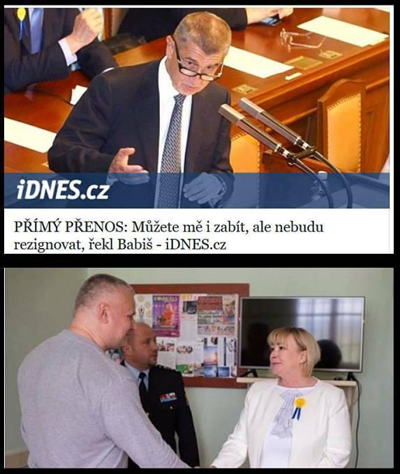 Kajínek vyřeší vládní krizi. Už víme, kdo zabije Andreje Babiše.