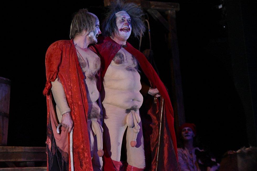 Vladimír Polívka v divadelním představení