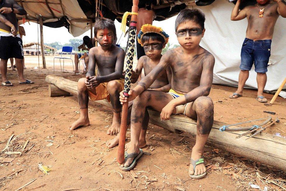 Brazilští domorodci