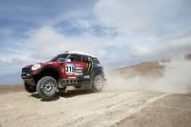 Boris Garafulic na Rallye Dakar 2015.