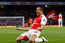 Alexis Sánchez vystřelil Arsenalu vítězství nad West Bromwichem.