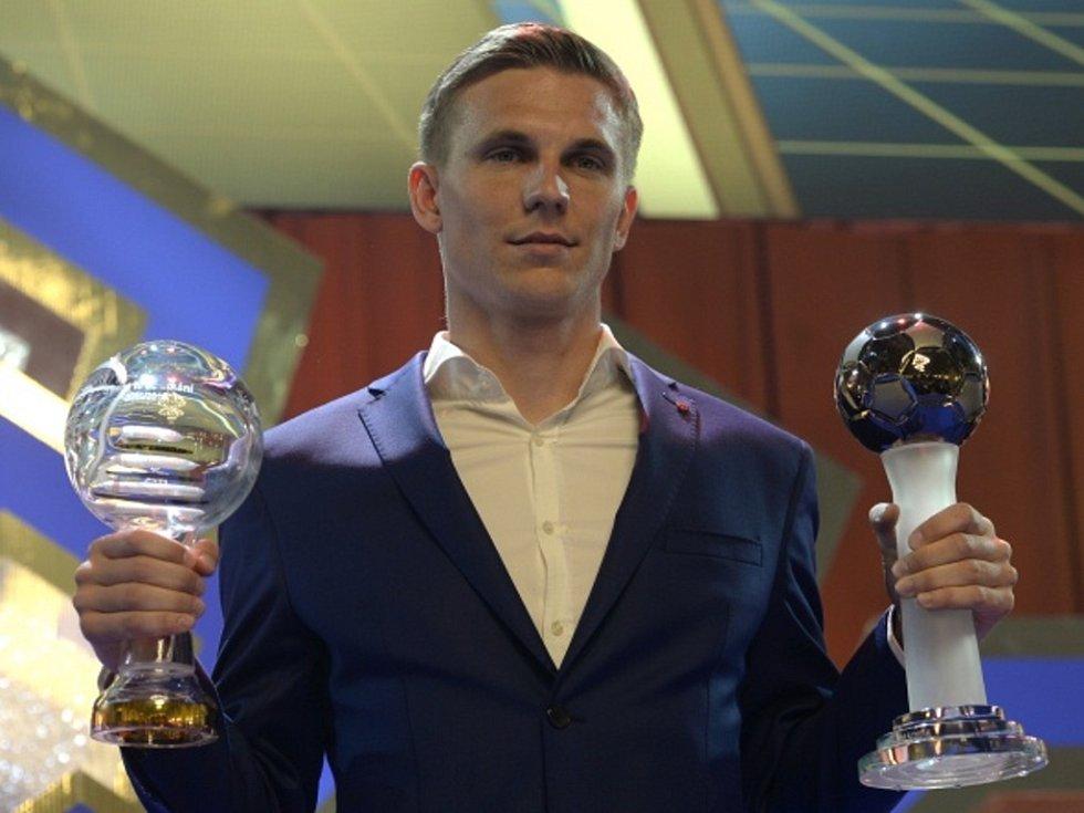 Bořek Dočkal ze Sparty se stal nejlepším hráčem ligy.