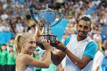 Australský pár Daria Gavrilovová a Nick Kyrgios vyhrál Hopman Cup.