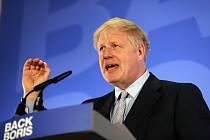 Britský konzervativní poslanec Boris Johnson