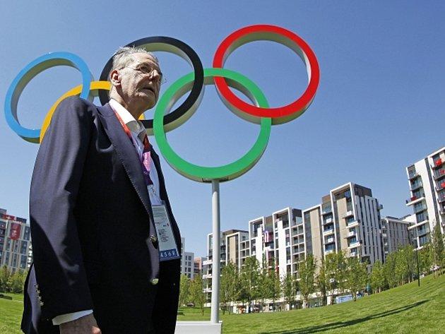 Prezident Mezinárodního olympijského výboru Jacques Rogge.
