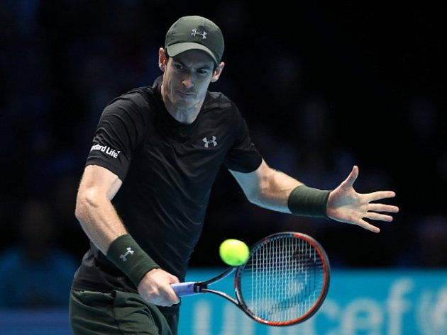 Andy Murray na Turnaji mistrů.