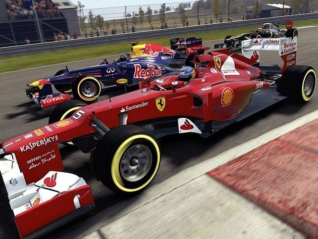 Počítačová hra F1 2012.