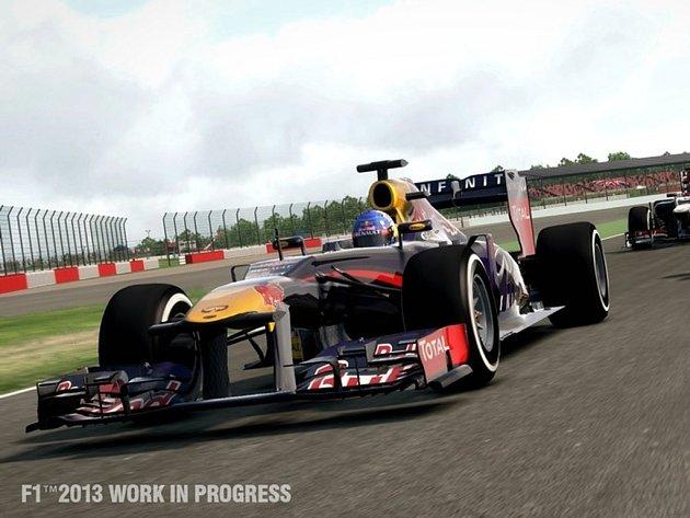 Počítačová hra F1 2013.