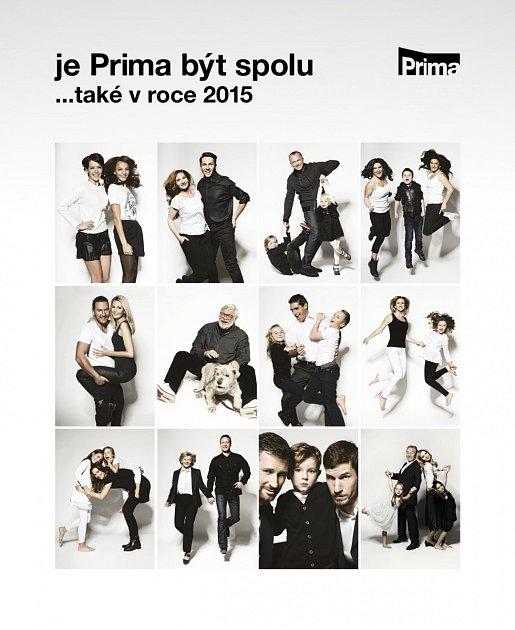 """TV Prima vydává exkluzivní charitativní kalendář """"Je Prima být spolu"""" stvářemi zpravodajství"""