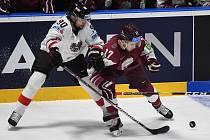 Zápas Lotyšsko - Rakousko