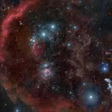 Součástí Orionova komplexu je také Mlhovina v Orionu.