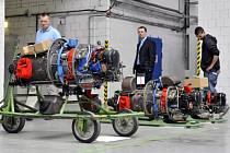 Letecké motory od společnosti GE Aviation Czech.