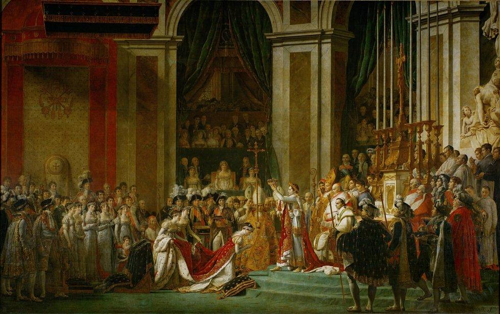V době, kdy byl Napoleon císařem, se z Francie stala světová velmoc.