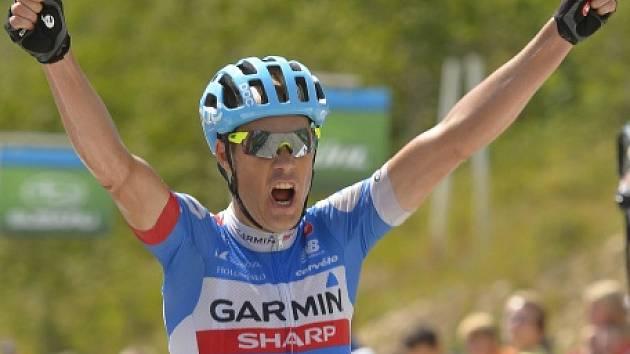 Americký cyklista Tom Danielson