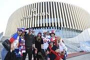 Čeští hokejoví fanoušci na MS v Dánsku.