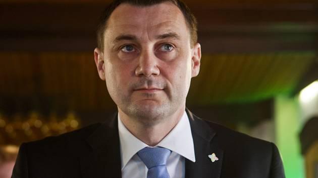Předseda hnutí a liberecký hejtman Martin Půta.