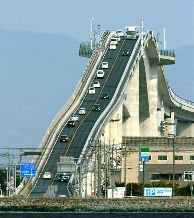 Eshima Ohashi Bridge (Japonsko)