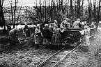 Vězeňkyně v ženském táboře Ravensbrück