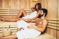 V sauně by měl být člověk 15 minut.