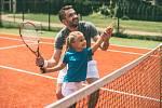 Sportující dítě. Ilustrační snímek