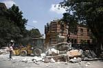 Mexiko zasáhlo rozsáhlé zemětřesení