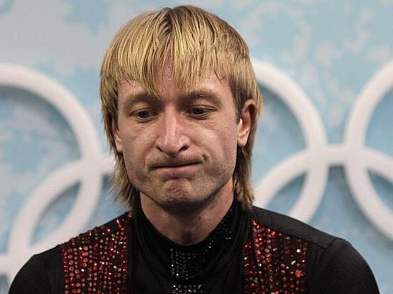 Jevgenij Pljuščenko byl ze stříbra rozmrzelý.
