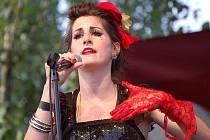 Klára Vytisková, zpěvačka skupiny Toxique