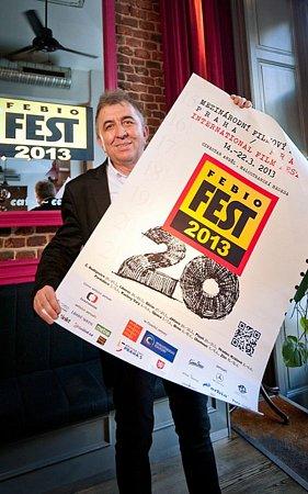 """Fero Fenič sice """"svůj"""" Febiofest prodal, ředitelem ale zůstal dál."""