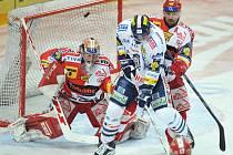 Rozhodující sedmý zápas semifinále mezi Slavií a Libercem.