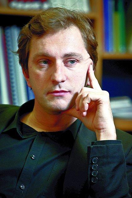 David Ondráčka, ředitel nevládní protikorupční organizace Transparency International.
