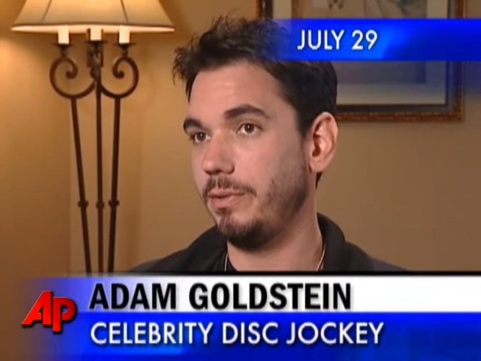Diskžokej Adam Goldstein