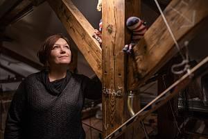 Ilustrátorka, výtvarnice a filmařka Galina Miklínová