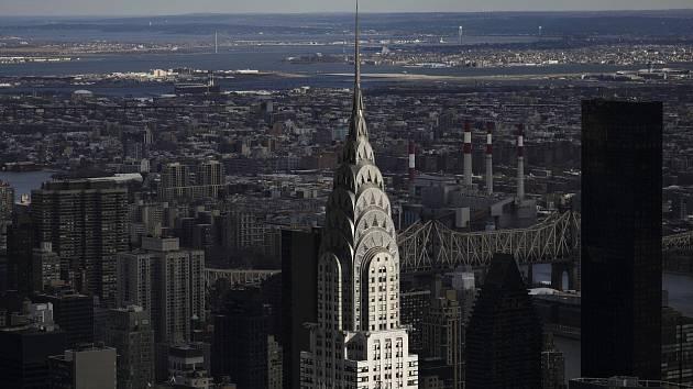 Mrakodrap Chrysler Building, Manhattan, New York