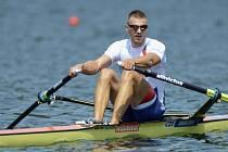 Převálcoval soupeře. Skifař Ondřej Synek se stal čtyřnásobným mistrem Evropy.