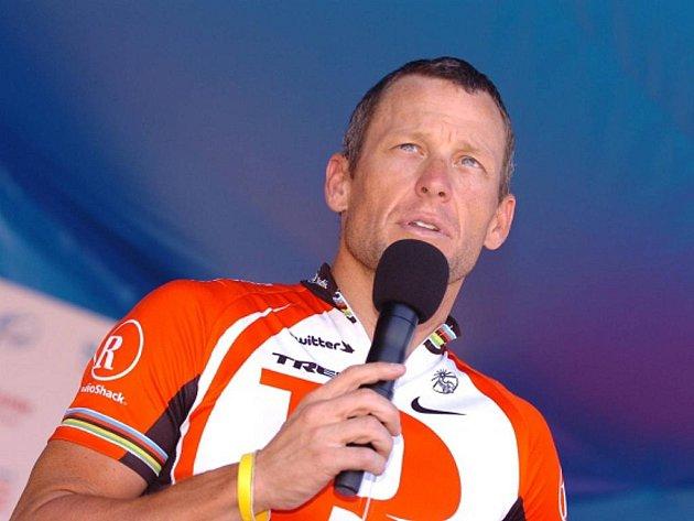Sedminásobný vítěz Tour de France Lance Armstrong.