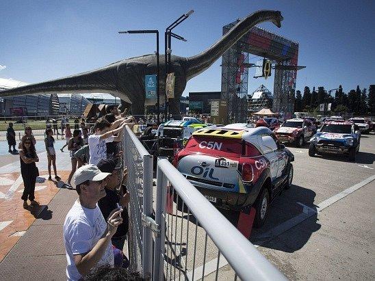 Buenos Aires se těší na starrt Dakaru